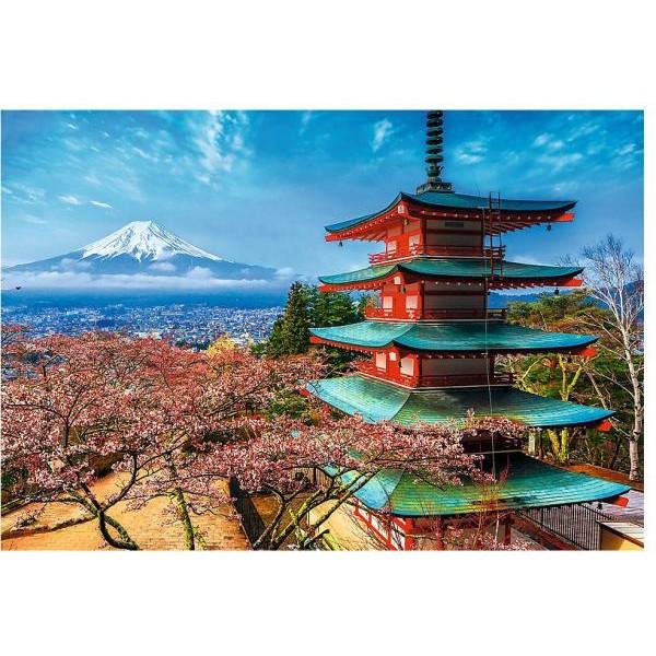 Puzzle Trefl - 1500 de piese - Mount Fuji