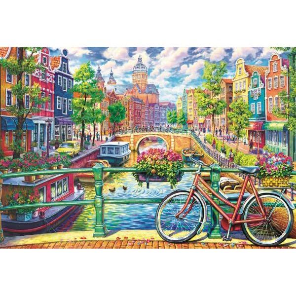 Puzzle Trefl - Amsterdam 1500 piese (26149)