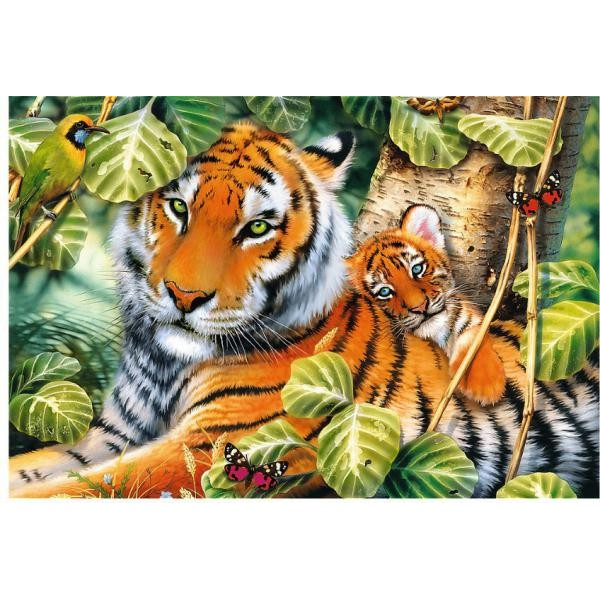Puzzle Trefl - Two Tigers 1500 piese (26159)
