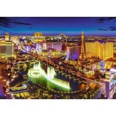Puzzle Trefl - 2000 de piese - Las Vegas by night
