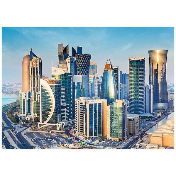 Puzzle Trefl - 2000 de piese - Doha Qatar