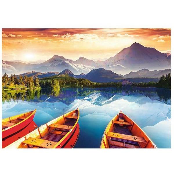 Puzzle Trefl 2000 Lac montan