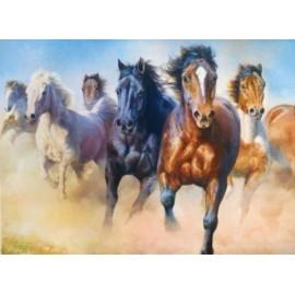 Puzzle Trefl - Galloping Herd of Horses 2.000 piese (27098)