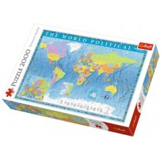 Puzzle Trefl - The World Political 2.000 piese (27099)