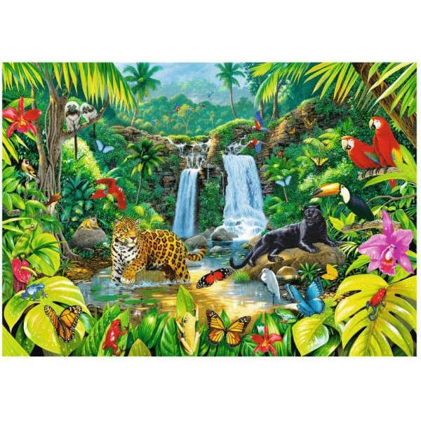 Puzzle Trefl - Rainforest 2.000 piese (27104)
