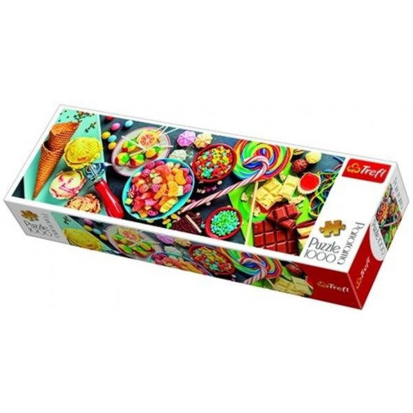 Puzzle panoramic Trefl - Sweet Delights 1.000 piese (29046)