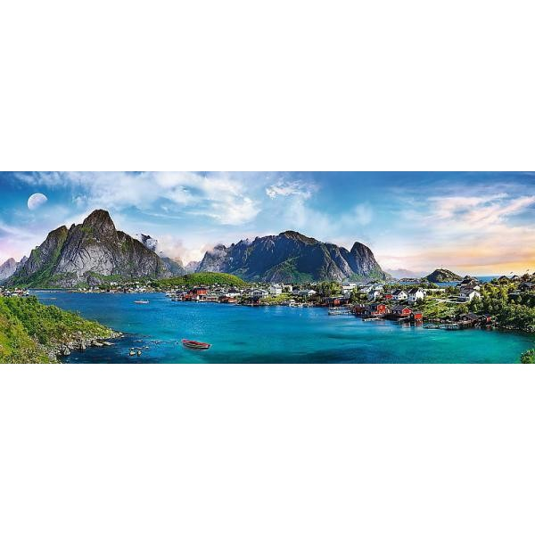 Puzzle panoramic Trefl - Lofoten Islands Norway 500 piese (29500)