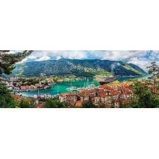 Puzzle panoramic Trefl - Kotor Montenegro 500 piese (29506)