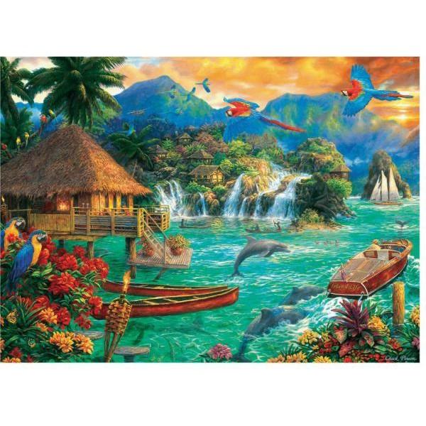 Puzzle Trefl 3000 Insula vietii
