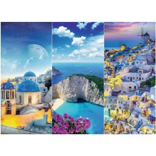 Puzzle Trefl 3000 Vacanta in Grecia