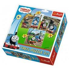 Puzzle Trefl - Thomas & Friends 20/36/50 piese (58171)