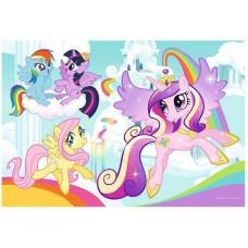 Puzzle de colorat Trefl - Color Puzzle - My Little Pony 20 piese (55034)