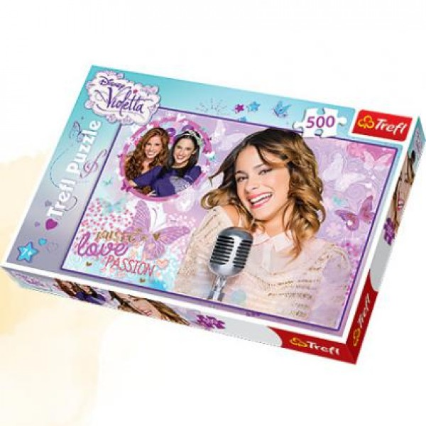 Puzzle Trefl 500 Violetta - Lets sing!