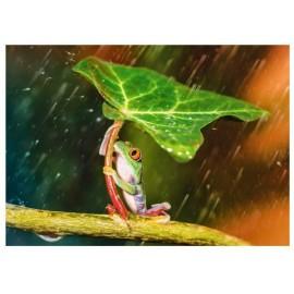 Puzzle Trefl - Green Umbrella 500 piese (61528)
