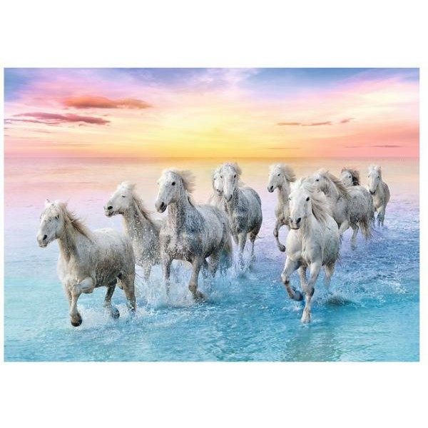 Puzzle Trefl - Galloping White Horses 500 piese (61529)