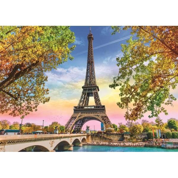 Puzzle Trefl - Romantic Paris 500 piese (37330)