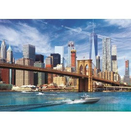 Puzzle Trefl - View of New York 500 piese (37331)