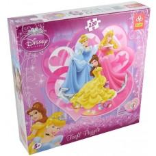 Puzzle contur Trefl - Disney princesses 220 piese (40529)