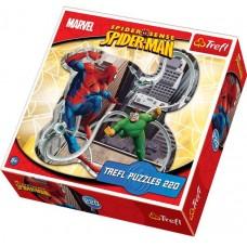 Puzzle contur Trefl - Spider-Man 220 piese (11715)